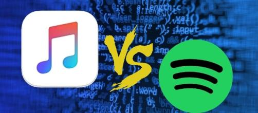 Apple Music Spotify Tweet - thesavannahbananas.com
