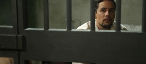 Il dottor German De La Serna in carcere.