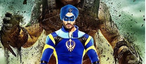 Tiger Shroff as superhero in A Flying Jatt - Via YouTube