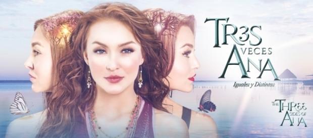 Angelique Boyer interpreta trigêmeas (Foto: Televisa)