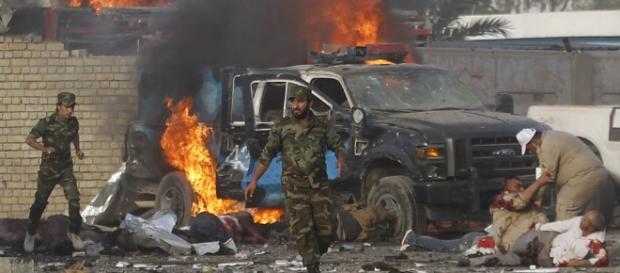 Aumentan a 82 los muertos por una cadena de explosiones en Bagdad - telecinco. -By Roberson