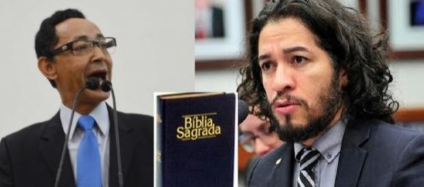 Jean Wyllys nega que tenha projeto para mudar a bíblia