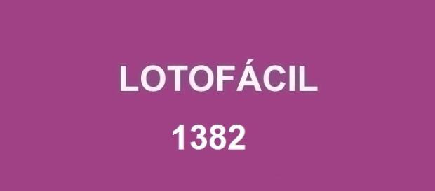 Sorteio da Lotofácil 1382 realizado nessa sexta-feira, dia 1º