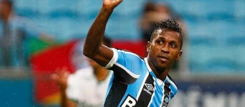 Bolaños ainda não deslanchou pelo Grêmio