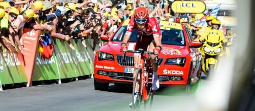 Con el Mont Blanc como telón de fondo, el ciclista ruso Ilnur Zakarin se adjudicó la etapa 17 del Tour