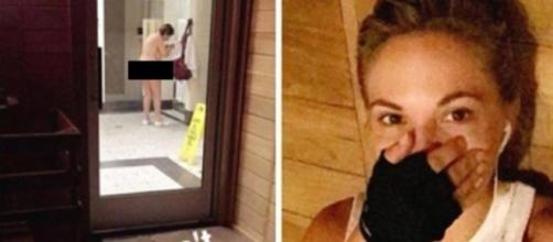 Dani Mathers foi acusada de fazer 'body shaming' por internautas após publicar foto de mulher nua e a ridicularizar.