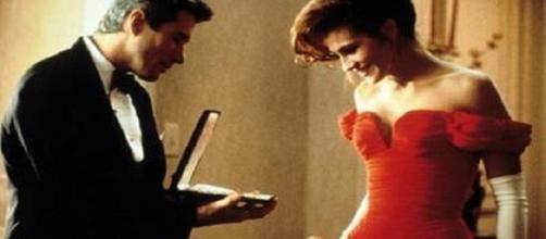 """""""Uma Linda Mulher"""", com Richard Gere e Julia Roberts: produção de Garry Marshall (Foto: Divulgação)"""