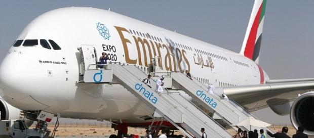 Emirates new Airbus A380 has a capacity of 615 passengers | Daily ... - dailymail.co.uk