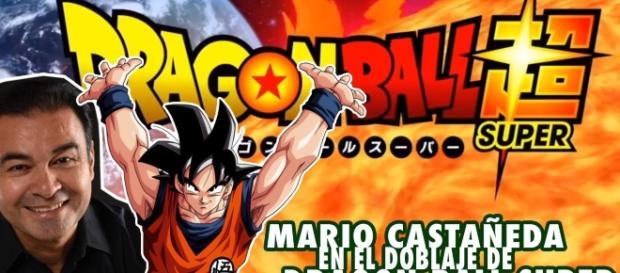 Imagen con Mario Castañeda y Goku