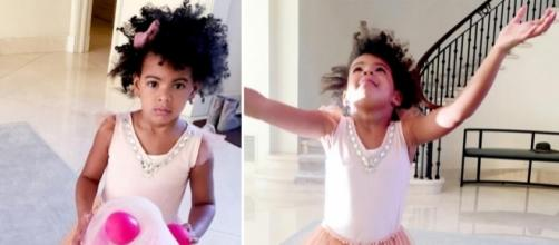 Blue Ivy selects her own clothes