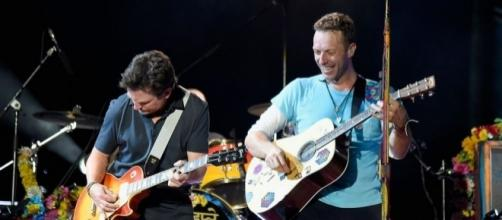 Michael J. Fox joined Coldplay in US