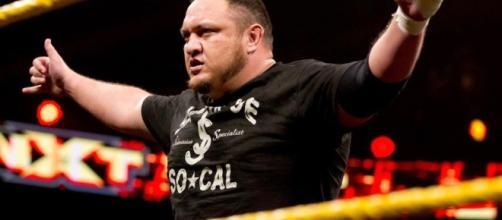 NXT Results 7/20: Samoa Joe retains. Image via WWE (http://espanol.wwe.com/superstars/samoajoe)