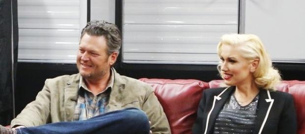 Blake Shelton and Gwen Stefani first met on the set of 'The Voice' [Image via NBC]