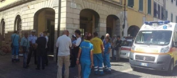Familie de români evacuaţi de autorităţile italiene din casă