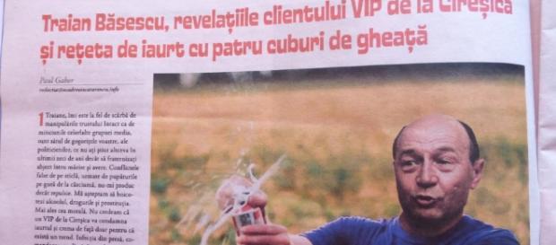 Băsescu, urmărit penal pentru amenințare. Foto: paulgabor.ro