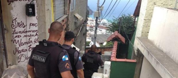 Operación policial en Babilonia