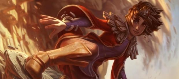 Taliyah, campeón de League of Legends