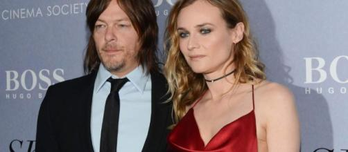 Diane Kruger Cozies Up To Alleged Lover & Coster Norman Reedus At ... - thecelebrityauction.co