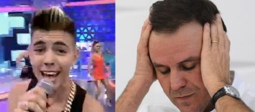 Eduardo Paes não quer ouvir MC Biel (Divulgação/Internet)