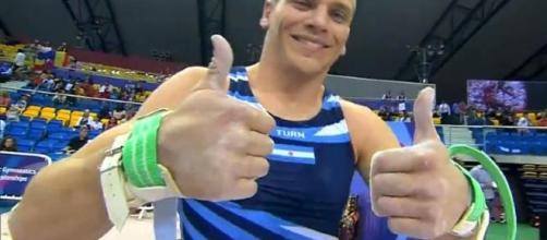El gimnasta Nicolás Córdoba, el atleta número 213 de la delegación olímpica argentina que competirá en Río de Janeiro