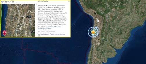 El sismo alcanzó una intensidad suficiente como para ser considerada como terremoto