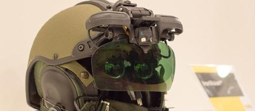 Elbit Systems IronVision Helmet. Photo: Noam Eshel, Defense-Update
