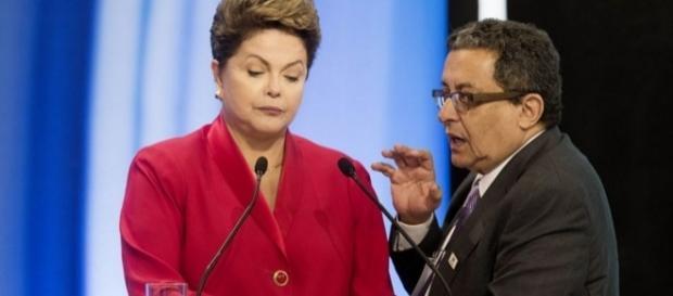 Dilma Rousseff e João Santana - Foto/Reprodução