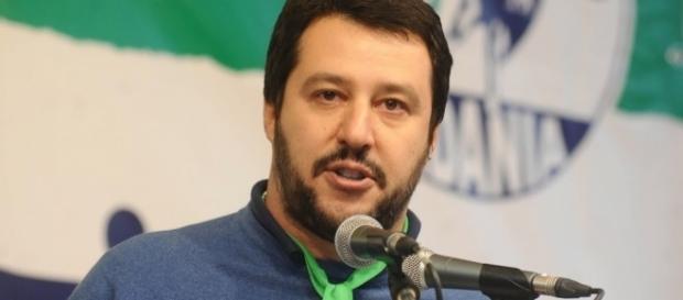 Matteo Salvini, esponente della Lega Nord