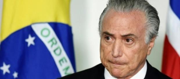 Michel Temer em cerimônia no Palácio do Planalto