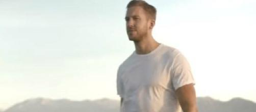 Calvin Harris is friends with Kim Kardashian-Photo by YouTube/Vevo