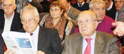Giuseppe Gargani e Ciriaco De Mita