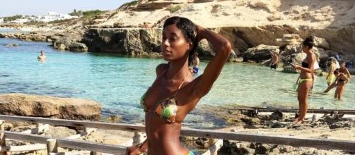 Jazzma Kendrix in vacanza a Formentera con Vieri