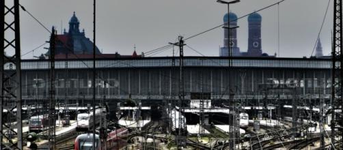 La stazione principale di Monaco di Baviera.