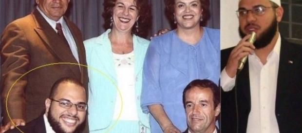 Investigado por terrorismo trabalhou com Dilma