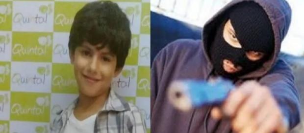 Menino de 8 anos é morto em assalto