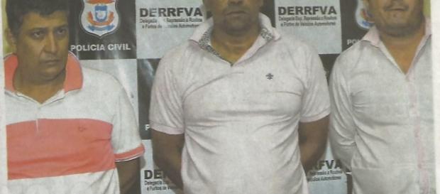 Três são presos por praticar crime de estelionatário