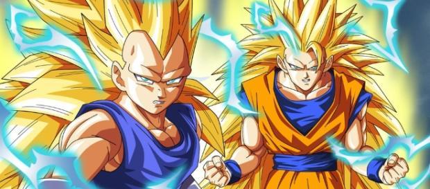 Vegeta, Goku en fase Super Saiyajin 3