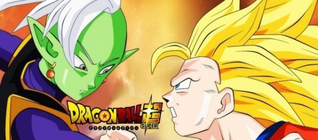 Zamasu contra Goku super saiyajin 3