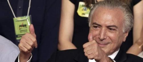 Michel Temer é o atual presidente em exercício do Brasil (Foto: Eraldo Peres/AP)