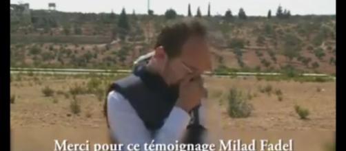 Milad Faled cronista siriano di Al Jaziira scoppia in lacrime: 'I bambini muoiono di fame'