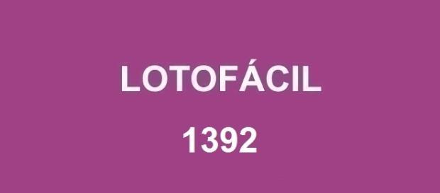 Concurso Lotofácil 1392 acontece nessa segunda-feira, dia 25