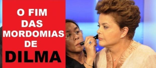 Dilma pode perder mordomais - Arte