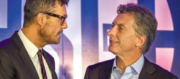 Marcelo Tinelli, atacado por discrepar con el presidente Macri