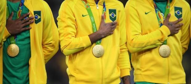 Ouro brasileiro no futebol | Fonte: Veja.com