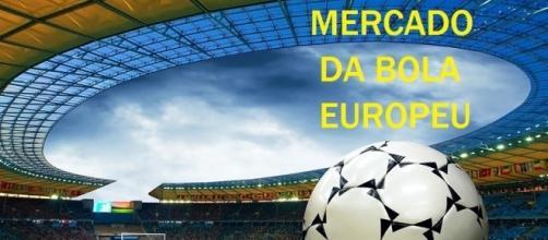Clubes da Europa esquentam o mercado da bola.