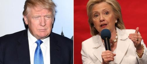Hillary Clintonta CNN: baja, Donald Trump sube - bleplus.com