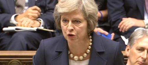 Theresa May's first PMQs: New head stamps mark « Shropshire Star - shropshirestar.com