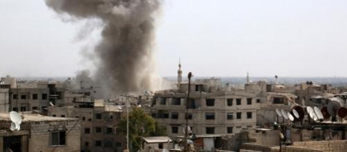 Un raid aereo francese nel nord della Siria