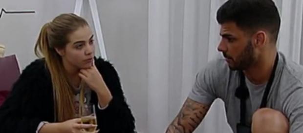Andreia Silva esteve no Love on Top com Bruno Marvão