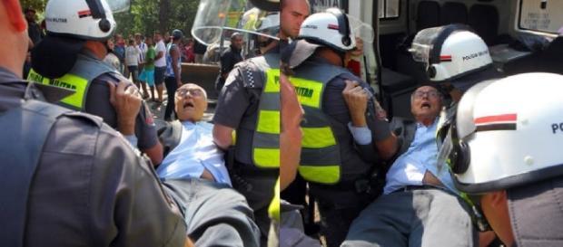 Eduardo Suplicy e a prisão feita pela PM
